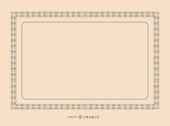 Certificado frontera vector