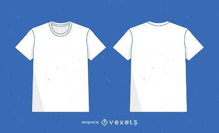 Vektor-T-Shirt-Vorlage 2