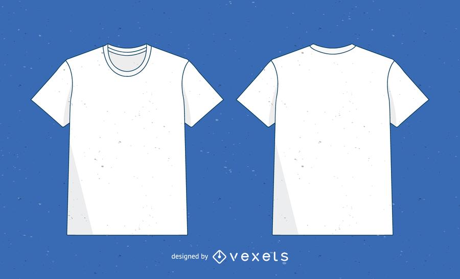 Vector T Shirt Plantilla 2