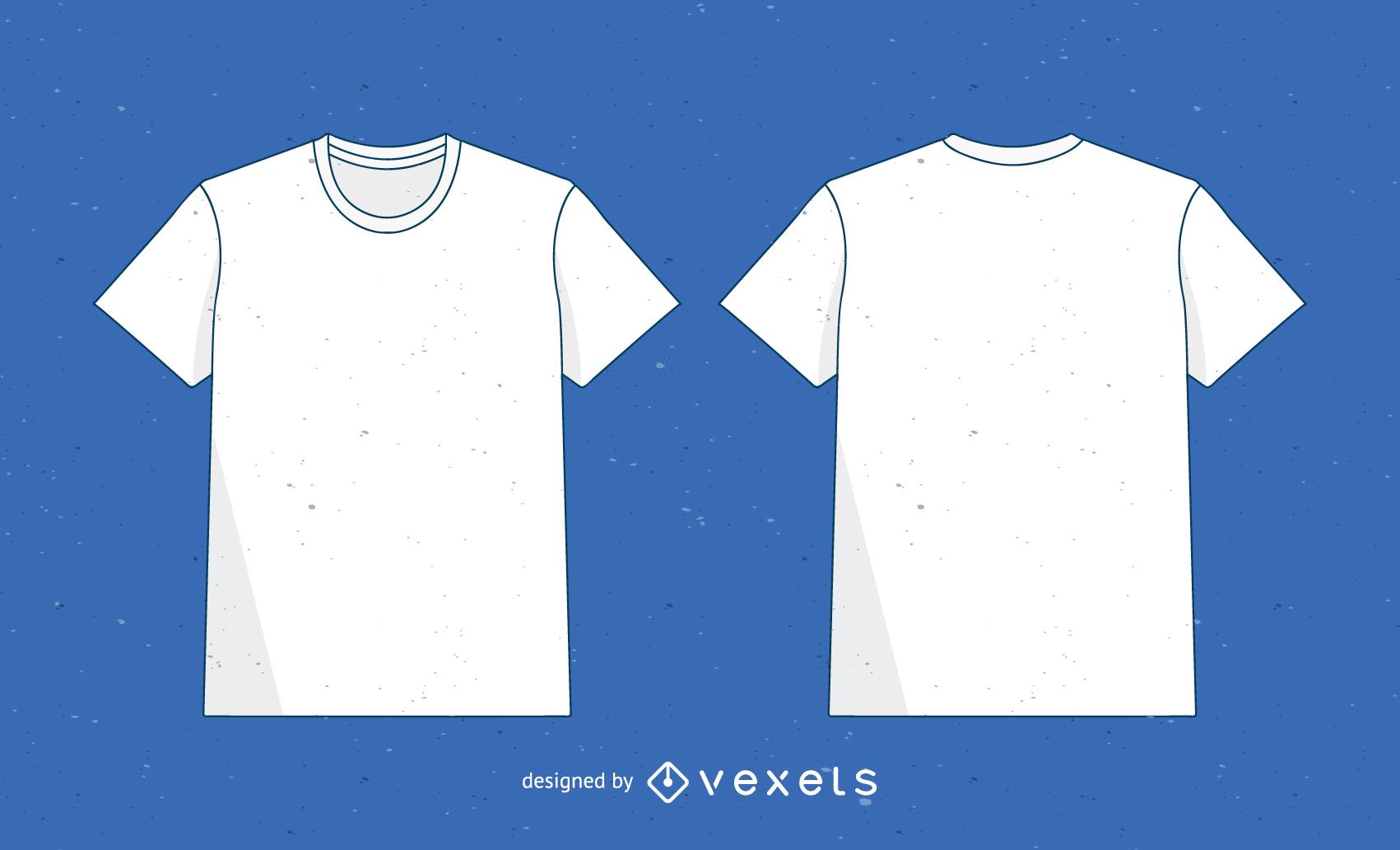 Vector T Shirt Plantilla 2 - Descargar vector db061bc8ecd2c