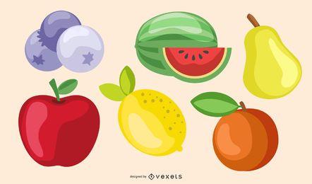 Fruta de vidrio