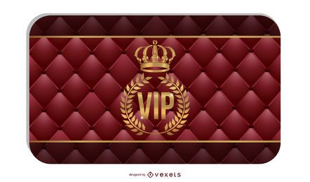 Tarjeta Vip 04 Vector
