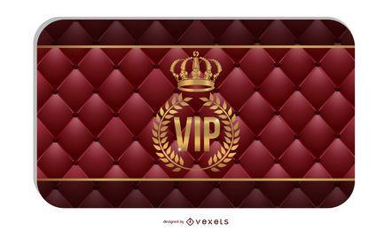 Vip Card 04 Vector