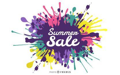 Summer Deals Posters 03 Vector