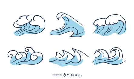Gráfico de vetor de onda 2