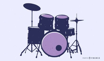 Fine Drums 01 Vector