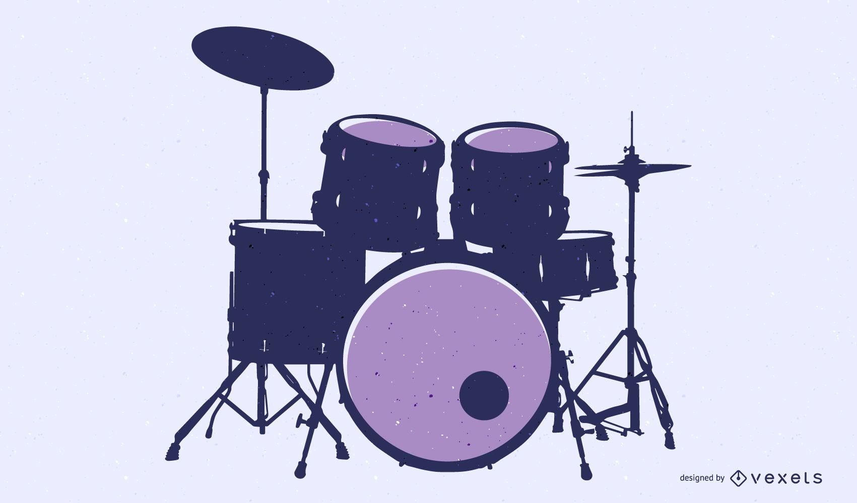 Fine Drums 01 Vector