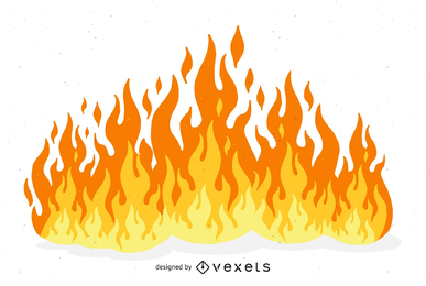 Beautiful Flame illustration Vector
