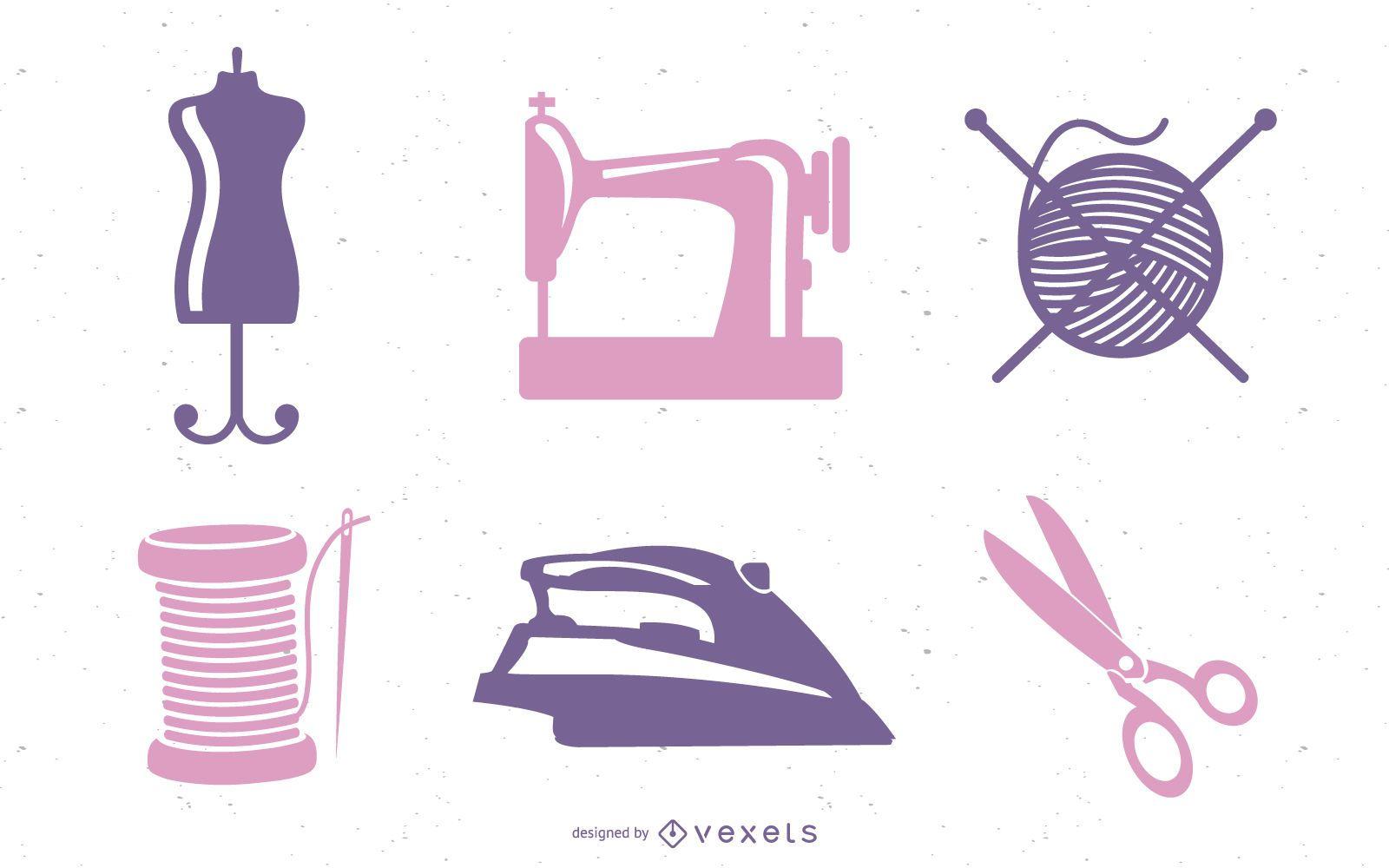 Vector de costura