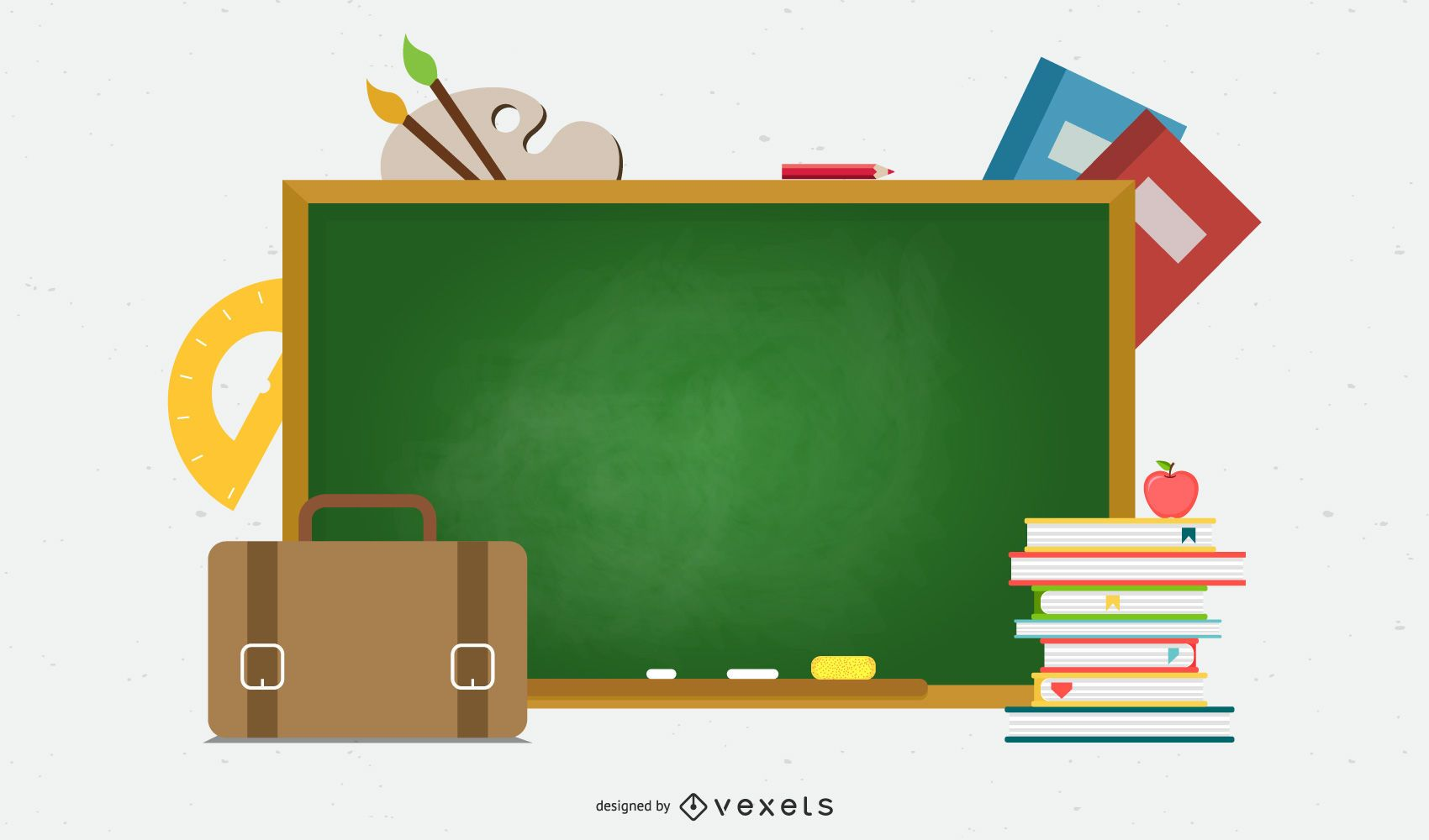 Learn Stationery 03 Vector
