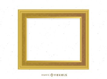 Frame 03 de ouro antigo
