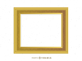 Vector de marco de oro antiguo 03