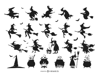 Halloween-Element-Vektor