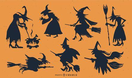 Vetor de elemento do dia das bruxas
