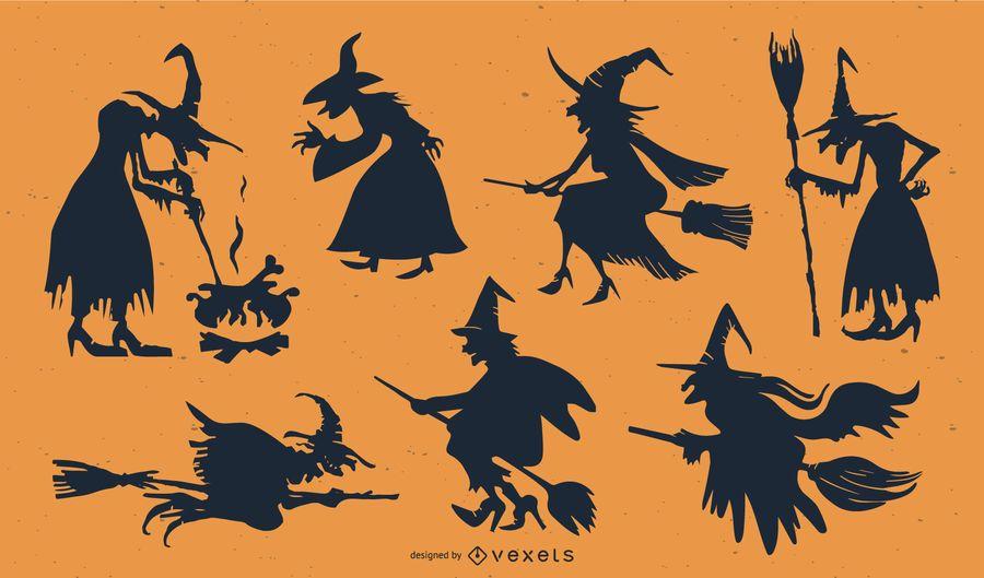 Vector de elemento de halloween