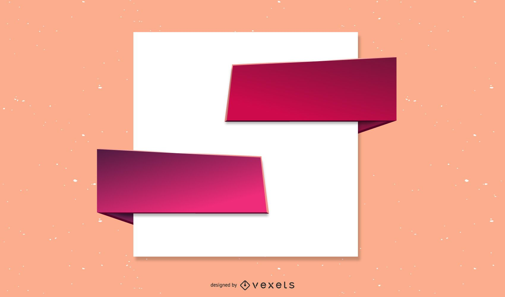 White Paper With The Arrow Vector 2
