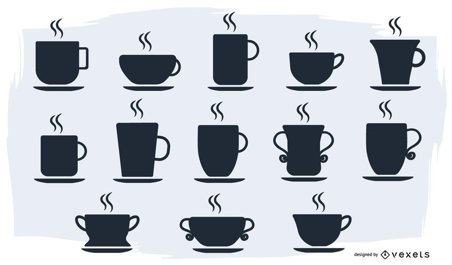 Vector de la taza
