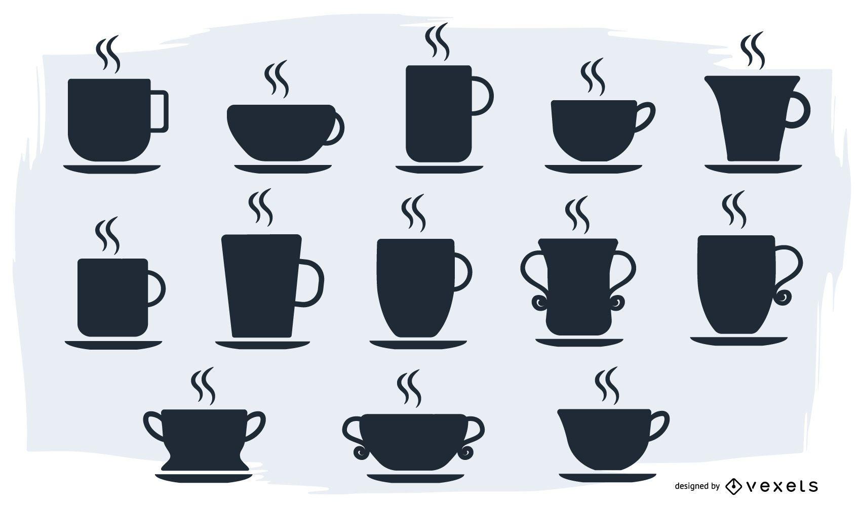 Vector de taza