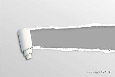 Vetor de papel rasgado grátis