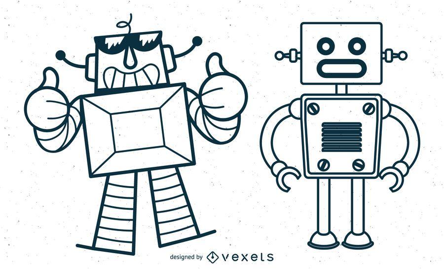 Vetores de robôs