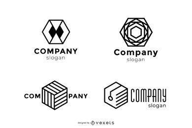 Descarga gratuita de vectores de logotipos Plantilla de logotipos gratuitos Logotipo gratuito Empresa Logotipo gratuito Negocio