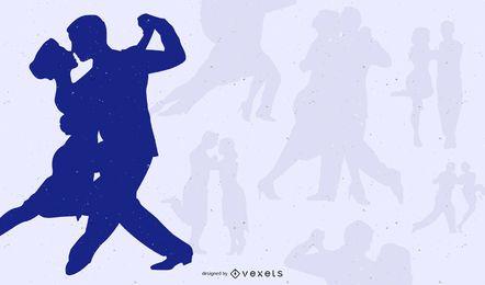 Poster das sombras do tango