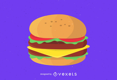 Vector de hamburguesa
