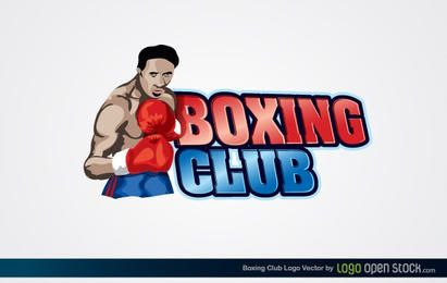 Logotipo del club de boxeo