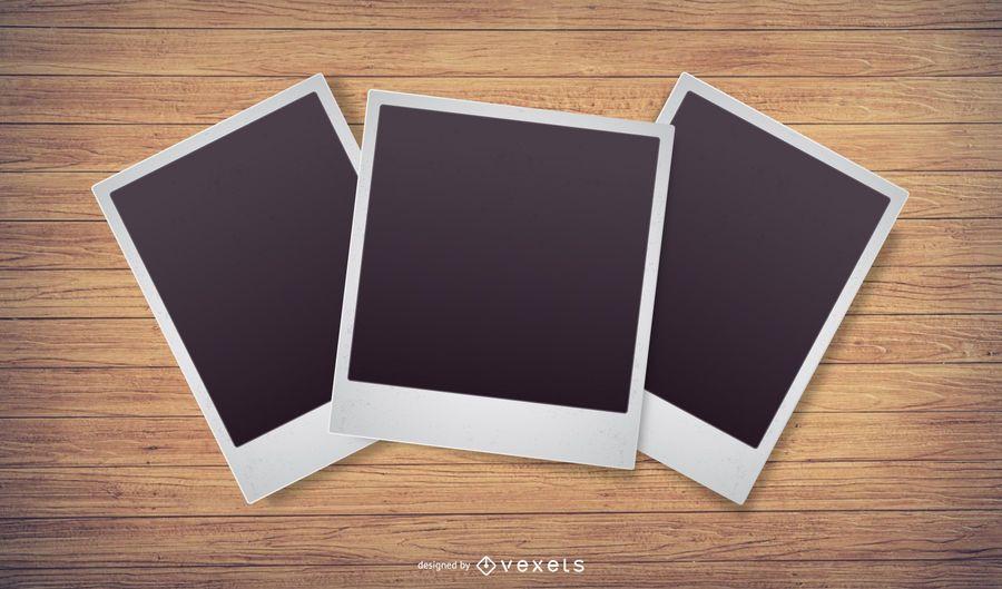 Polaroid foto vectorial
