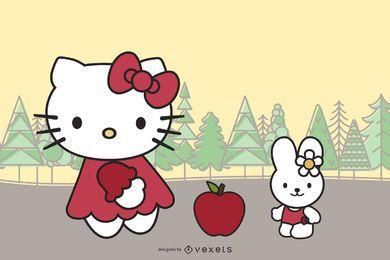 Olá Kitty Vetor oficial 51538 57