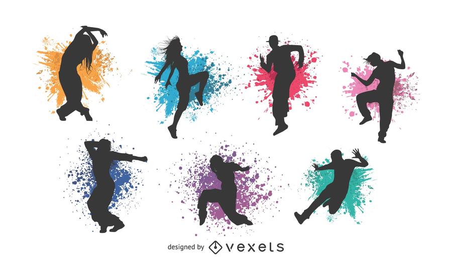 Figuras clássicas Vector Dance