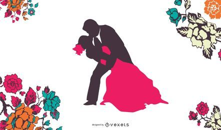 40 Zhang Meili casamento noiva Vector