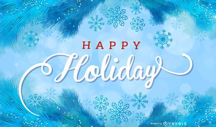 Beautiful Holiday Cards 05 Vector