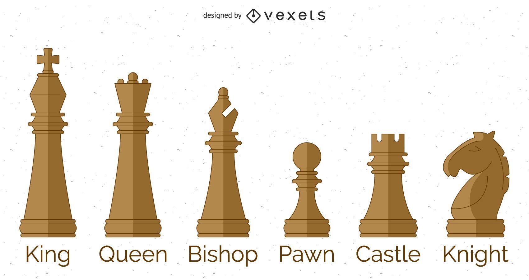 Personajes de ajedrez