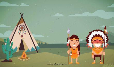 Arte del pueblo indio