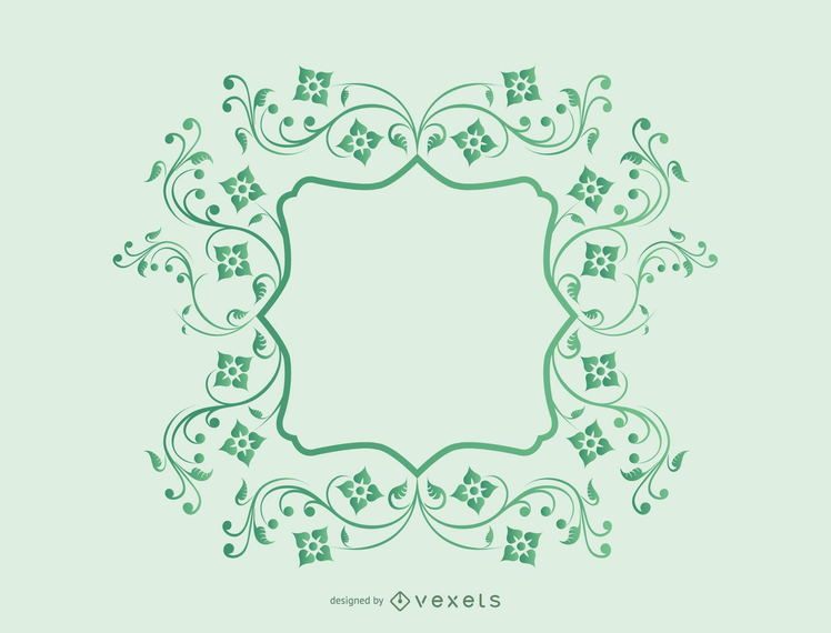 Vines Frame Vector - Vector download