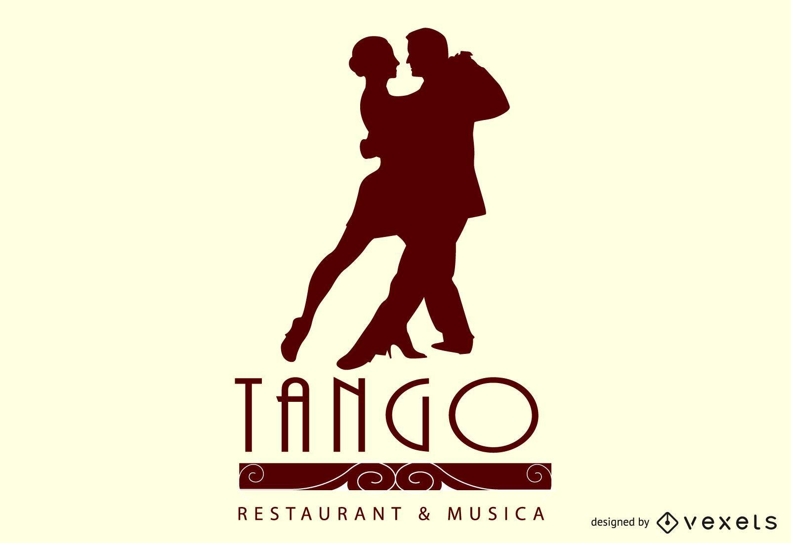 tango restaurant illustration design
