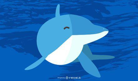 Vector libre de delfines