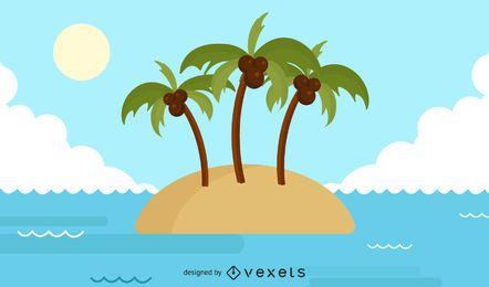 Ilha de verão