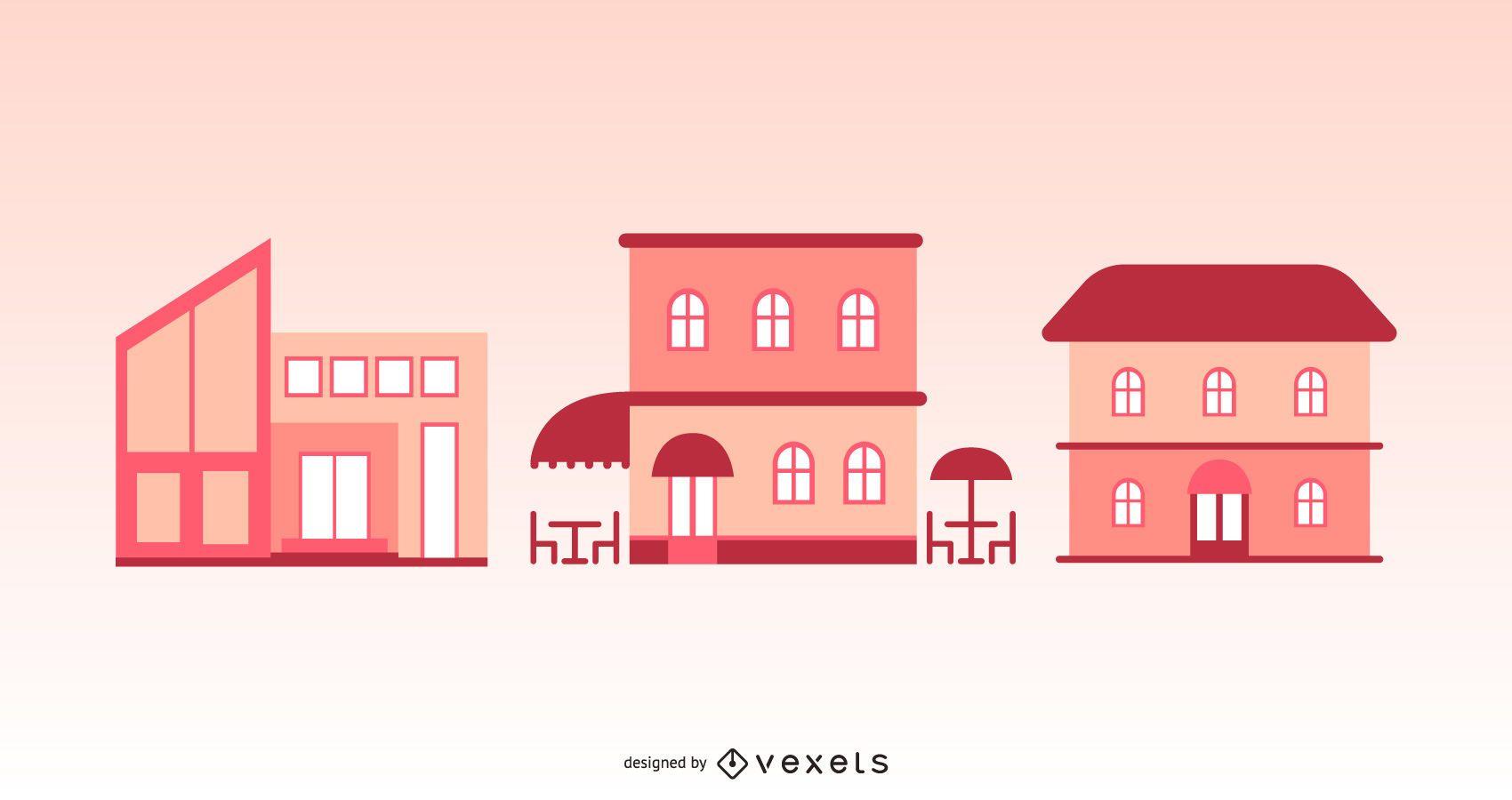 City Building Vectors
