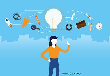Grandes idéias de negócios