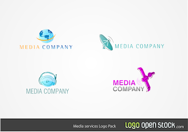 Paquete de Logo de Servicios de Medios