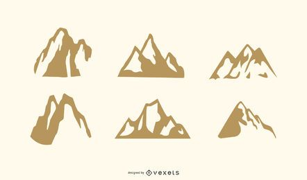 Vetores de montanha