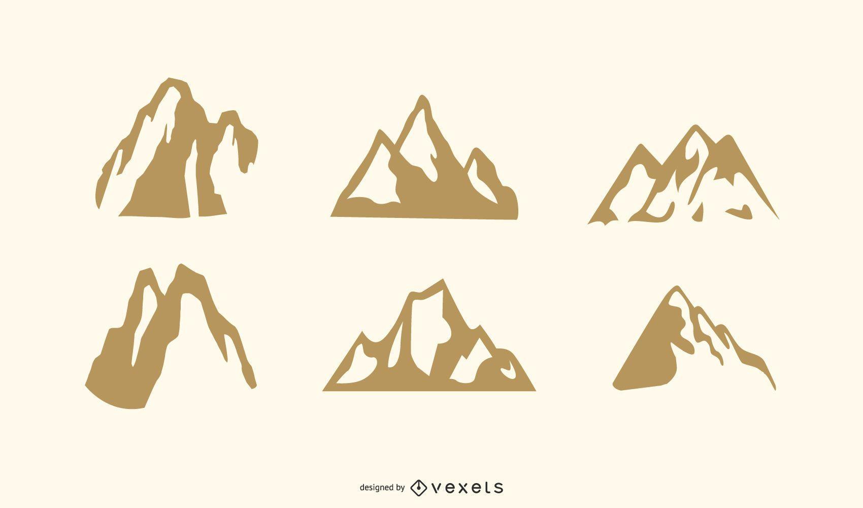 Vectores de montaña