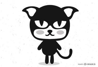 Felix der Katzenkarikatur