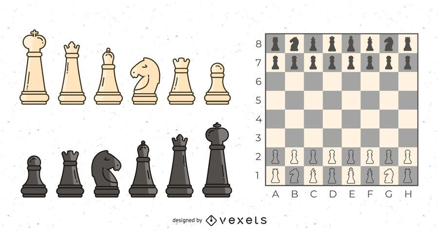 Chess Objects Set