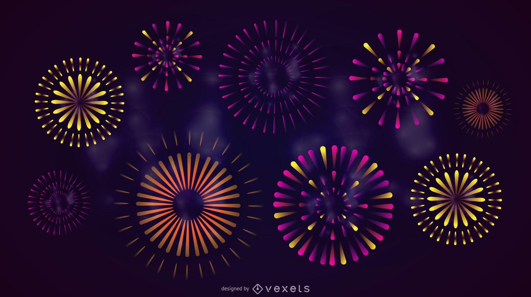 Fuegos artificiales de celebraci?n