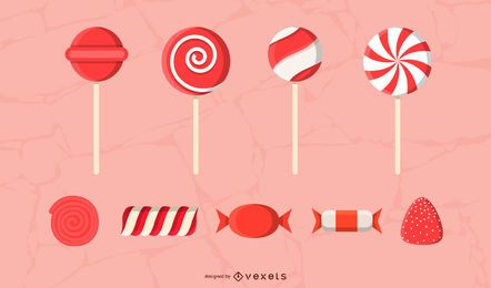 Red Sweets Pack