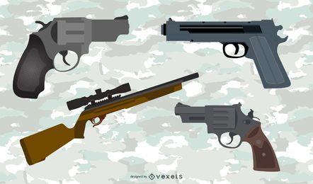 Pack de vectores de armas 2