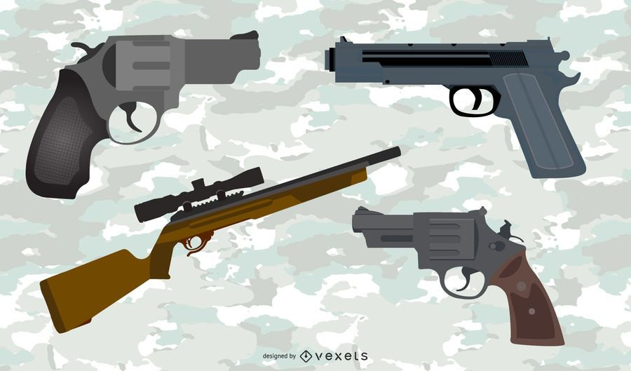 Pistolas Vector Pack 2